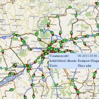 MÁV üzletfejlesztés Google Maps használatával