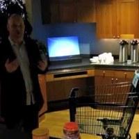 Üzleti innováció az áruházak számára - Intelligens bevásárlókocsi: a Kinect nem játék