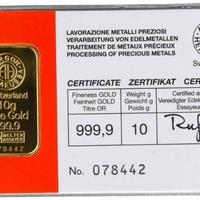Új termék az Arteustól - Aranyfedezetű euróhitel