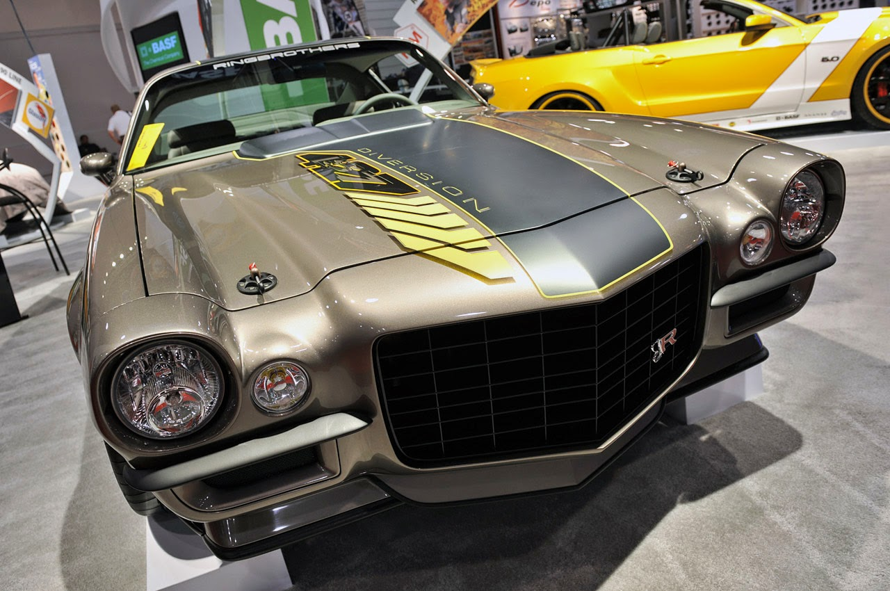 Chevrolet Camaro, második generáció