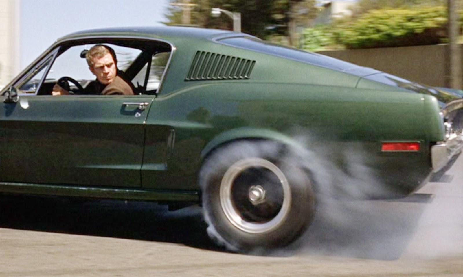 Bullit Steve McQueen-nel