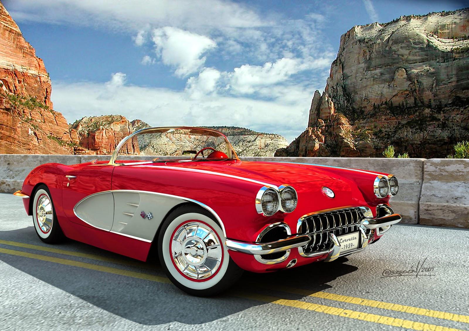 A legszebb Corvette.