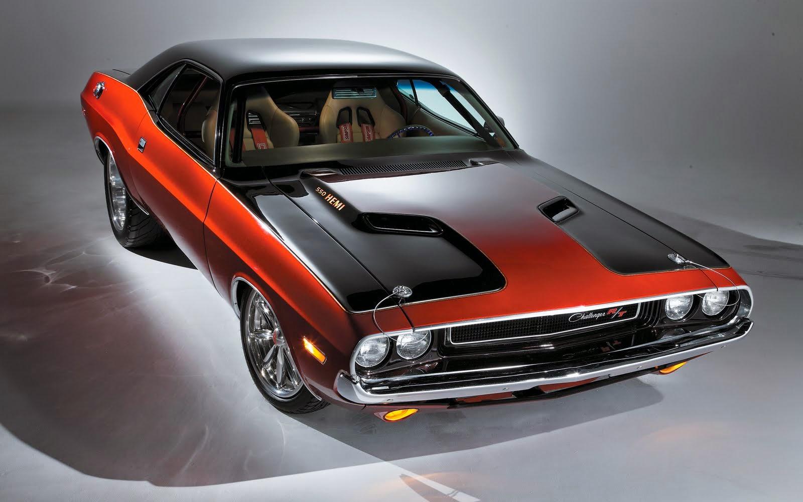 A Dodge Challenger szintén nagy sztár
