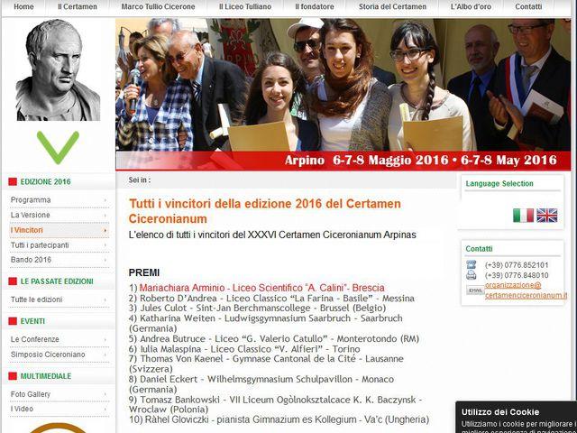 Nemzetközi sikerek a Ciceró-verseny