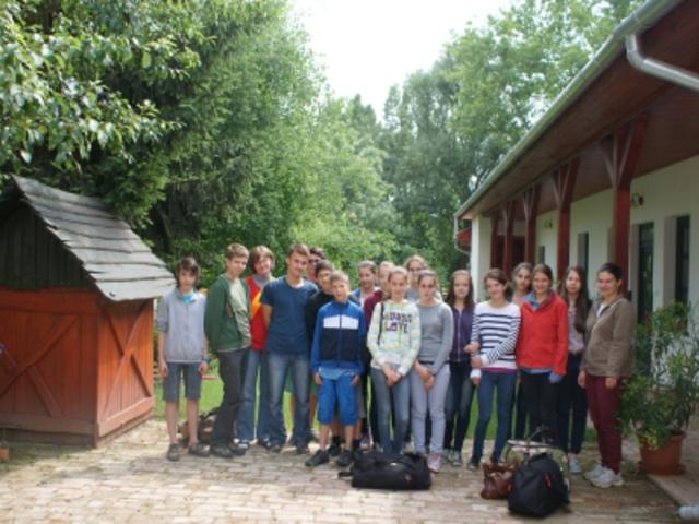 Első angol tábor