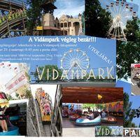 Vidámparty  a Vidámparkban - egész nap a PAD-dal