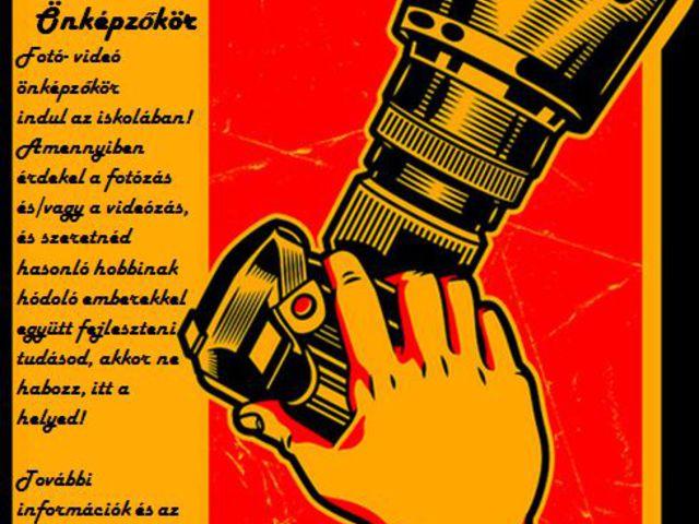 Fotózás, videózás - Önképzőkör péntekenként