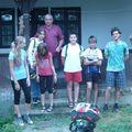 Alsós biciklis tábor - Nagybörzsönyi kerékpártúra Hujbert Tamás tanár úrral