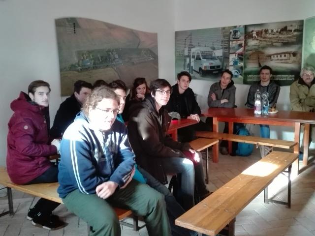 Váci Piarista tanulók az ITET Kisnémedi központjában