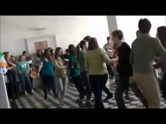 St. Patrick's day - flashmob