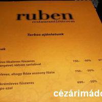 2009.02.28. Ruben étterem - 4 torkos nap:-)