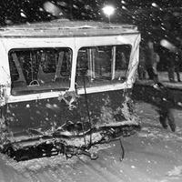 A hóesés, amikor a Fogas is karambolozott