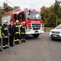 Új, összkerékhajtású autóval segítjük a helyi katasztrófavédőket