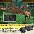ATN X-Sight II Smart HD 5-20x digitális céltávcső