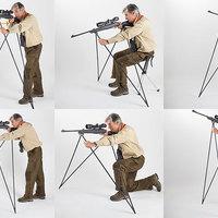 4 Stable Sticks lőbotok