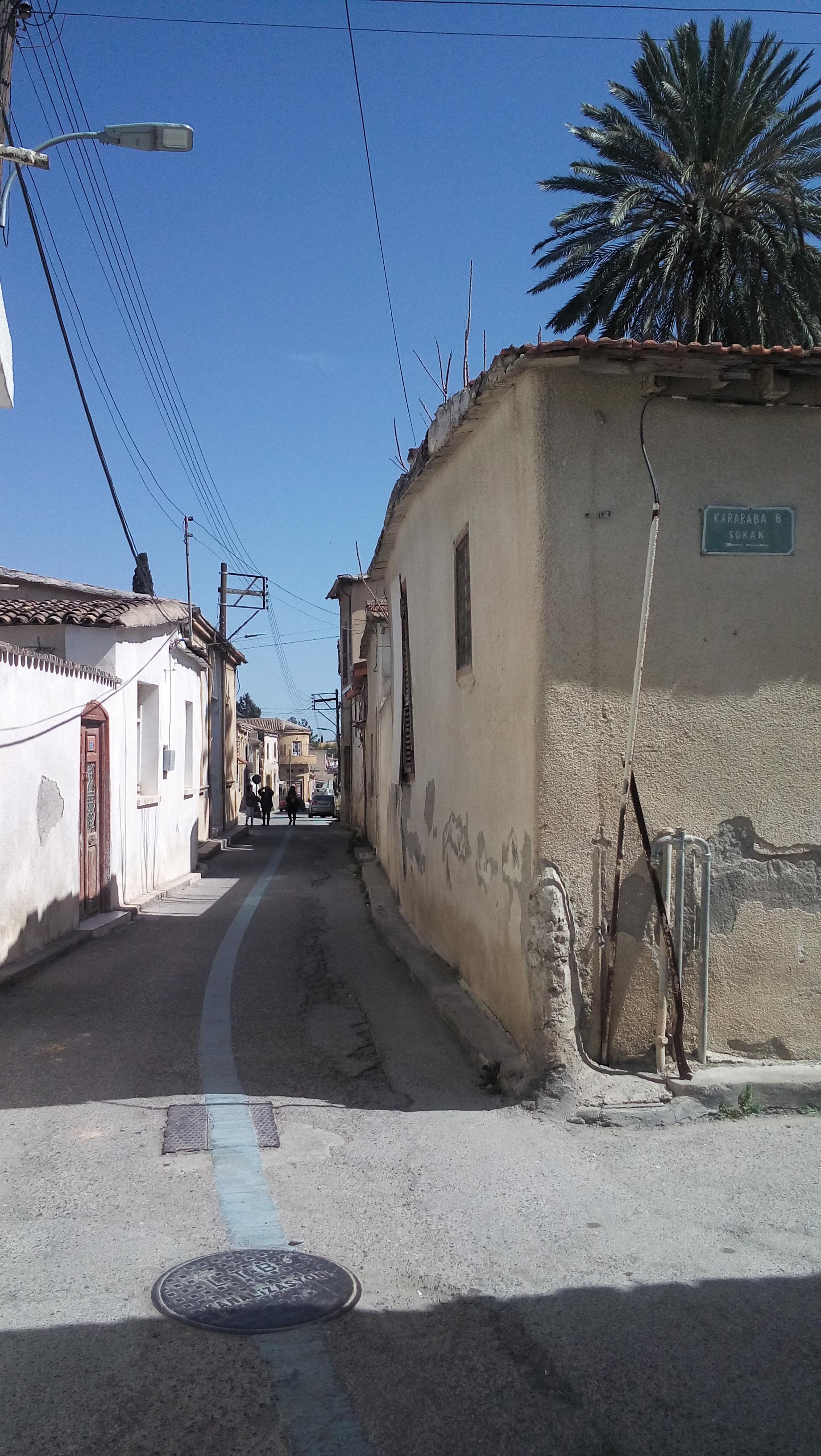 Szegény utcácska a török részen