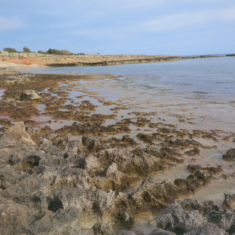 Ayia Napa, part menti út sziklái