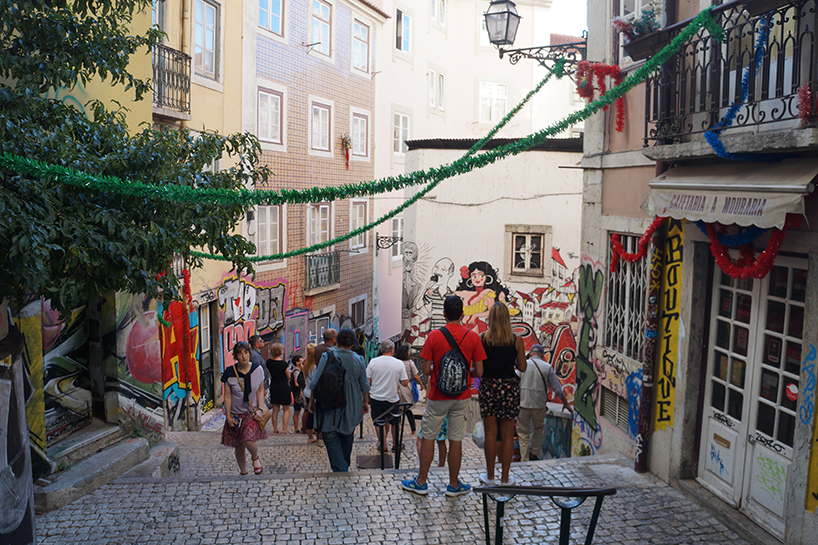 Street art és a fado