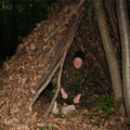 Avarmenedék - kunyhó az erdőben