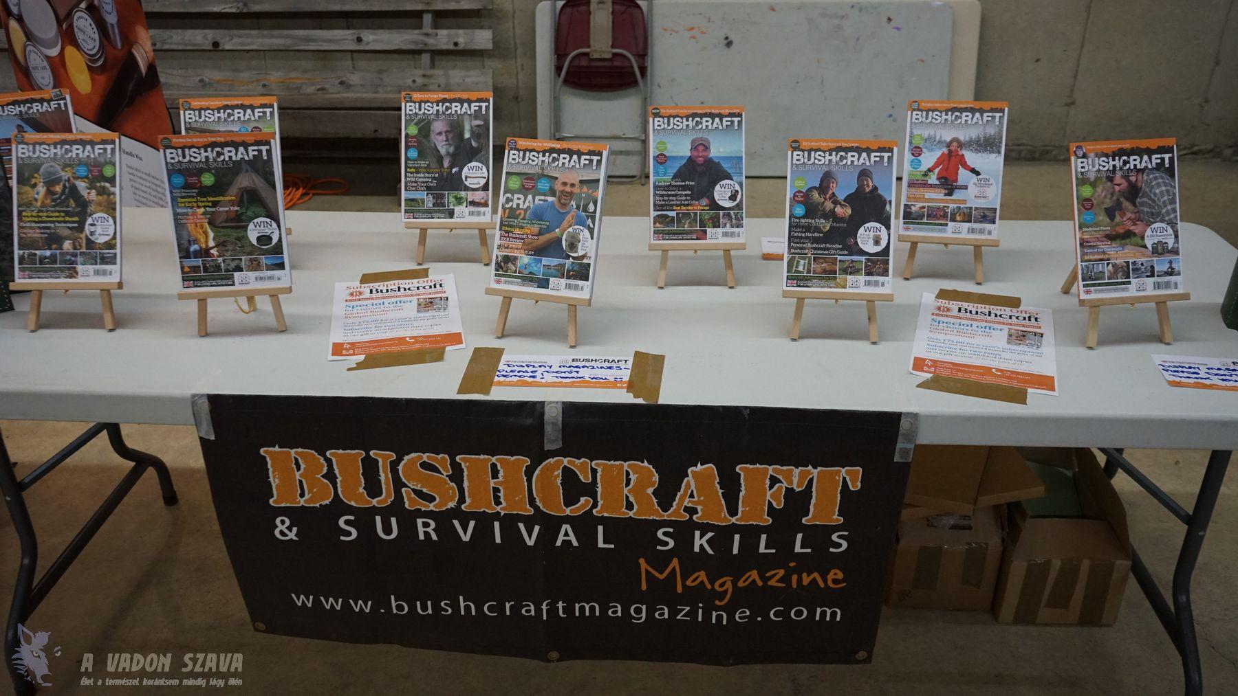 Bushcraft Magazin. Igen, ilyen is van.