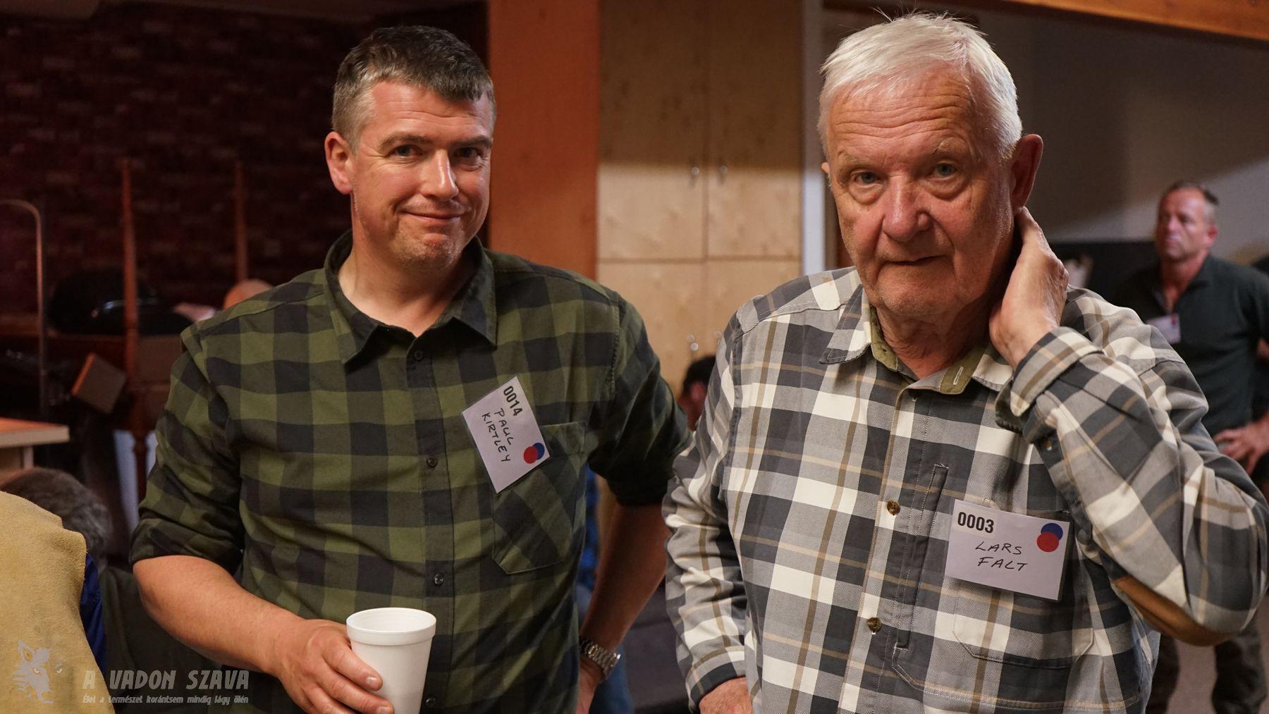 Paul Kirtley és Lars Fält
