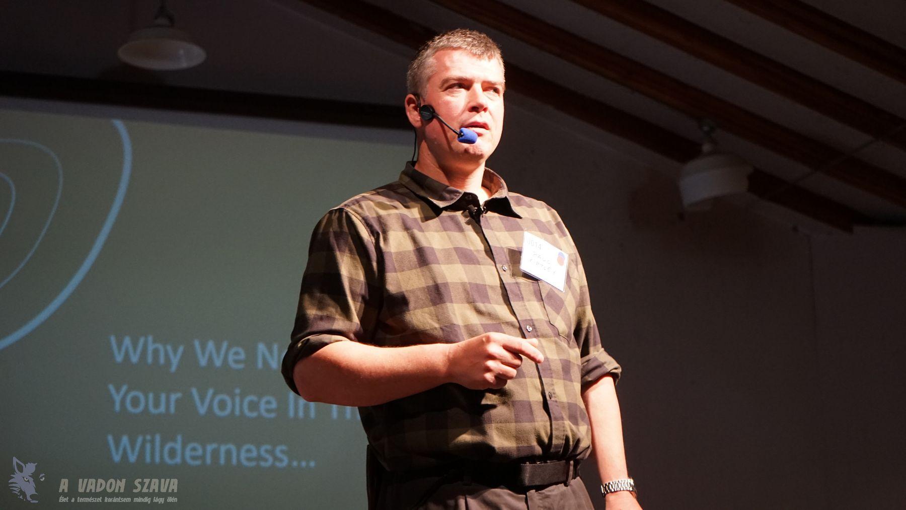 Paul Kirtley a tudás megosztásának fontosságáról beszél