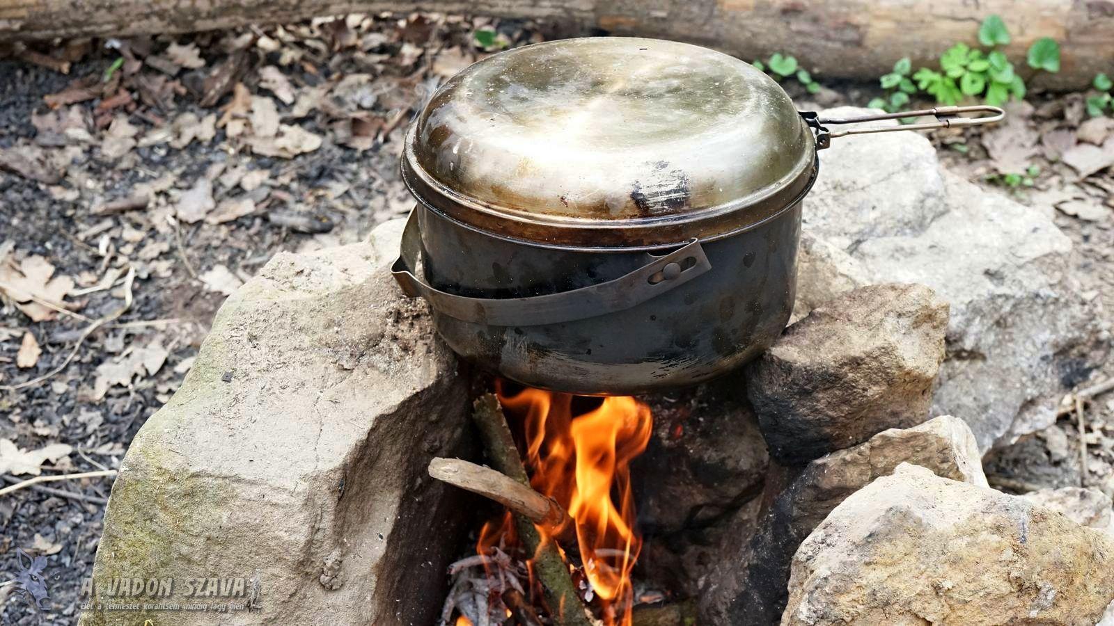 Tatonka Kettle rozsdamentes tábori főzőedény