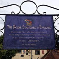 Anglia legöregebb fogadója – The Royal Standard of England