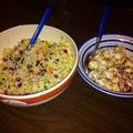 Kalmár gránátalmás cous-cous salátával