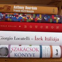 Gasztro könyvajánlók