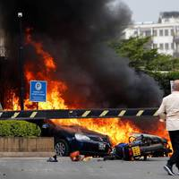 Szélsőségesek támadtak meg egy kenyai hotelt
