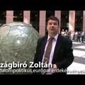 Strasbourgban Országbíró Zoltán mérsékelt demokrata politikussal villáminterjú