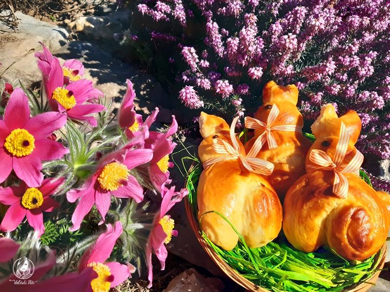 Briós nyuszi húsvétra