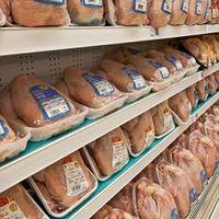 A hűtűpultokban lévő csomagolt csirke halálos veszélyt jelenthet