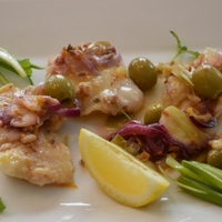 Mediterrán halsaláta recept