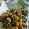 Zöldségek csicseriborsóval