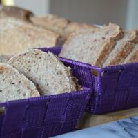 Hajdina és tönköly lisztes házi kenyér