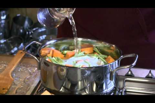 Halas - zöldséges curry