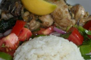 Lestyános hal távol-keleti ízekkel