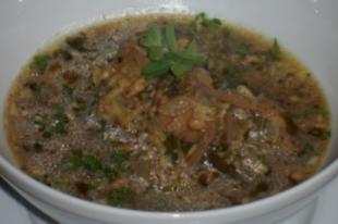 Harcso leves - grúz konyha