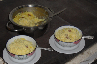 Édességek rizsből