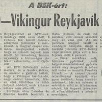 Időkapszula extra– Klubcsapataink 1983/84-s nemzetközi kupaszereplése 1. forduló, 2. kör