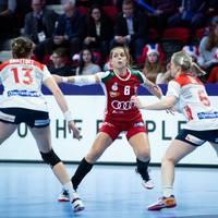 Magyarország - Norvégia 25-38 (12-19)