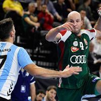 Magyarország - Argentína 25-25 (13-10)