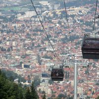 Szarajevói futballkörkép és városi séták