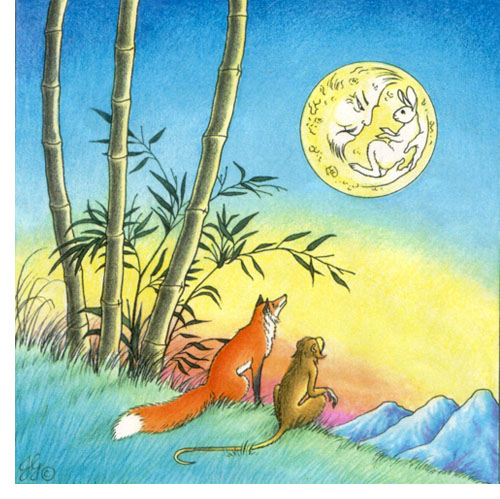 Forrás: http://www.weingartdesign.com/TMaS/Stories/images/rabbitonmoon.jpg