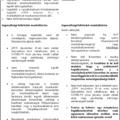 Ingyenes konzultációs csoport válságkezelési kérdésekről / 04.21-23-i összefoglaló