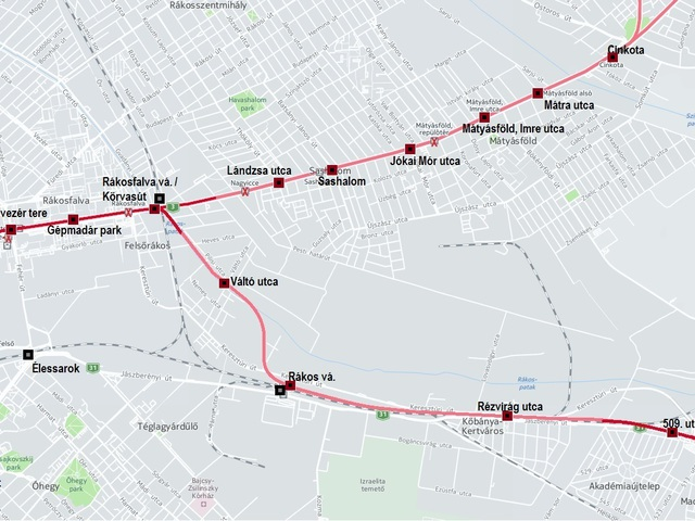 M2-es metró újragondolva