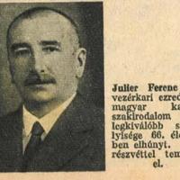 Julier Ferenc villámháborúja