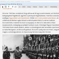 Mussolini, az antifasiszta